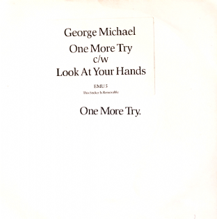 "George Michael ‎- One More Try (7"") (G-/G++)"